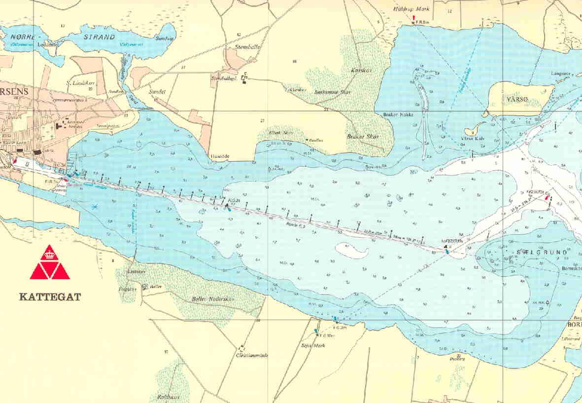 Skort over Horsens Fjord Horsens Roklub