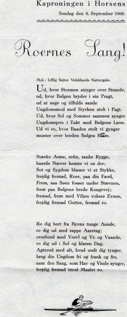 Roernes sang 1936
